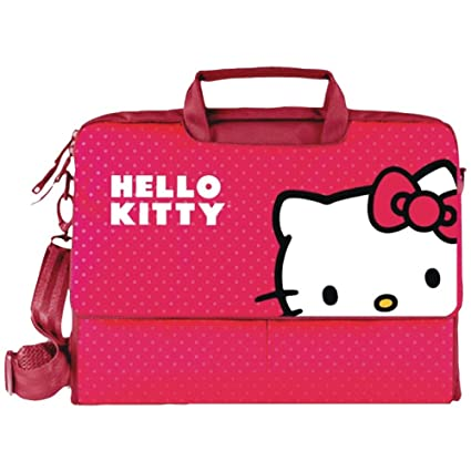 cb8e86836b Amazon.com  HELLO KITTY Notebook Bag (Red) (KT4335R)  Computers    Accessories