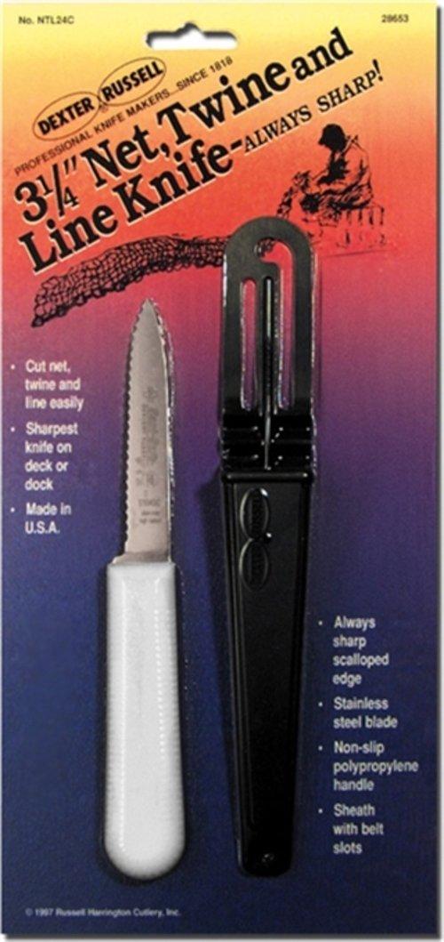 Dexter Russell 3-1/4 Net,Twine,Line Knife With Sheath