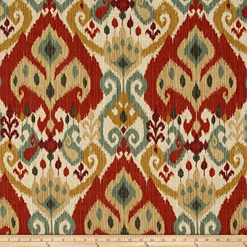 Swavelle/Mill Creek Witherfield Ikat Moroccan Fabric By The Yard