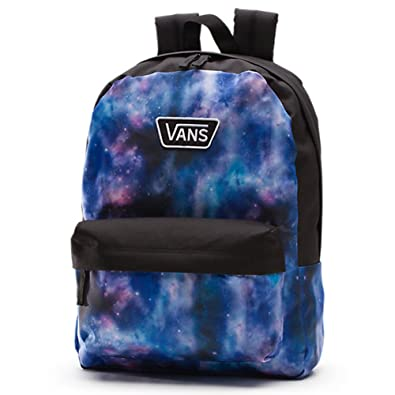 Amazon.com: Vans Realm II RTL Backpack Galaxy Nebula Black/Blue/Purple School Bag: Shoes