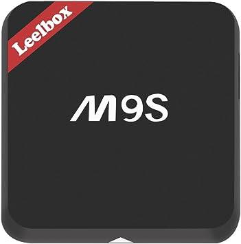Leelbox M9S Android TV Box, Smart TV Box de 2 GB RAM y 16 GB ROM
