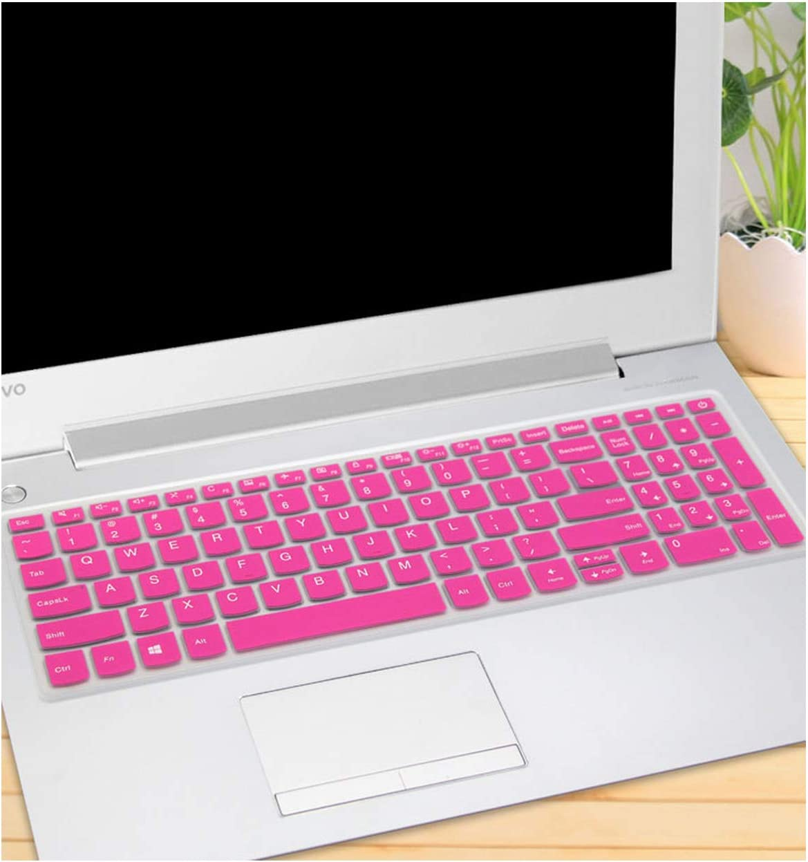 iwreuir Compatible for 15 15.6 Laptop Notebook Keyboard Cover Skin for Lenovo Ideapad L340 15 S340 330S 15Ikb 340C 340C 15Ikb 330C 330S 330S 15Ikb,Color 3