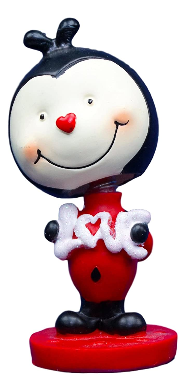 GBI Set of 4 Valentines Day Bobbleheads