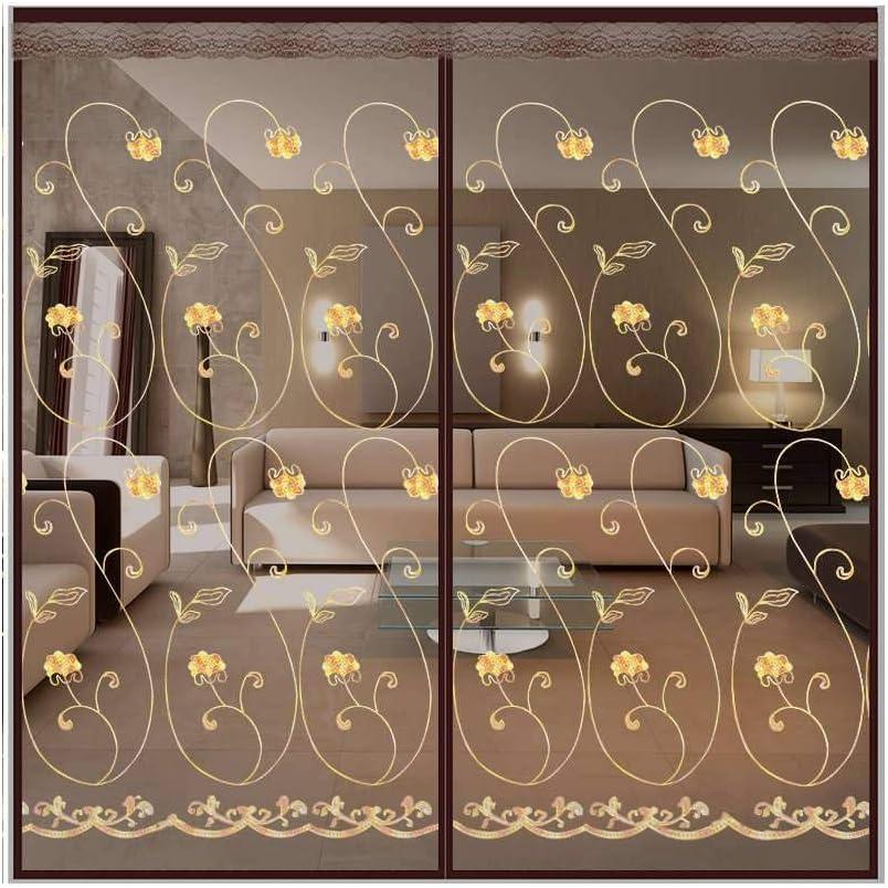 28x79inch Mosquitera Puerta Magnetica Apagar Autom/áticamente Mosquitera Magn/ética Villa A Trav/és De Balc/ón Cortina De Puerta-A-70x200cm Grande Cortina Mosquitera Magn/ética Para Puertas Para Garaje