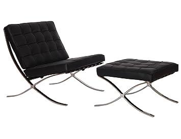 Amazon.com: MCM Barcelona Estilo Moderno Pavilion silla con ...