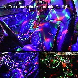 61%2B8vbUWFiL. SS300  - Mini-Discokugel-LichtYIKANWEN-Stimme-Steuerung-Disco-Party-Lichter-Bhnenbeleuchtung-Effektlicht-DJ-Stroboskop-Kugel-mit-Spiegeln-Glitzereffekt-fr-Parties-Kinder-Geburtstag-Club