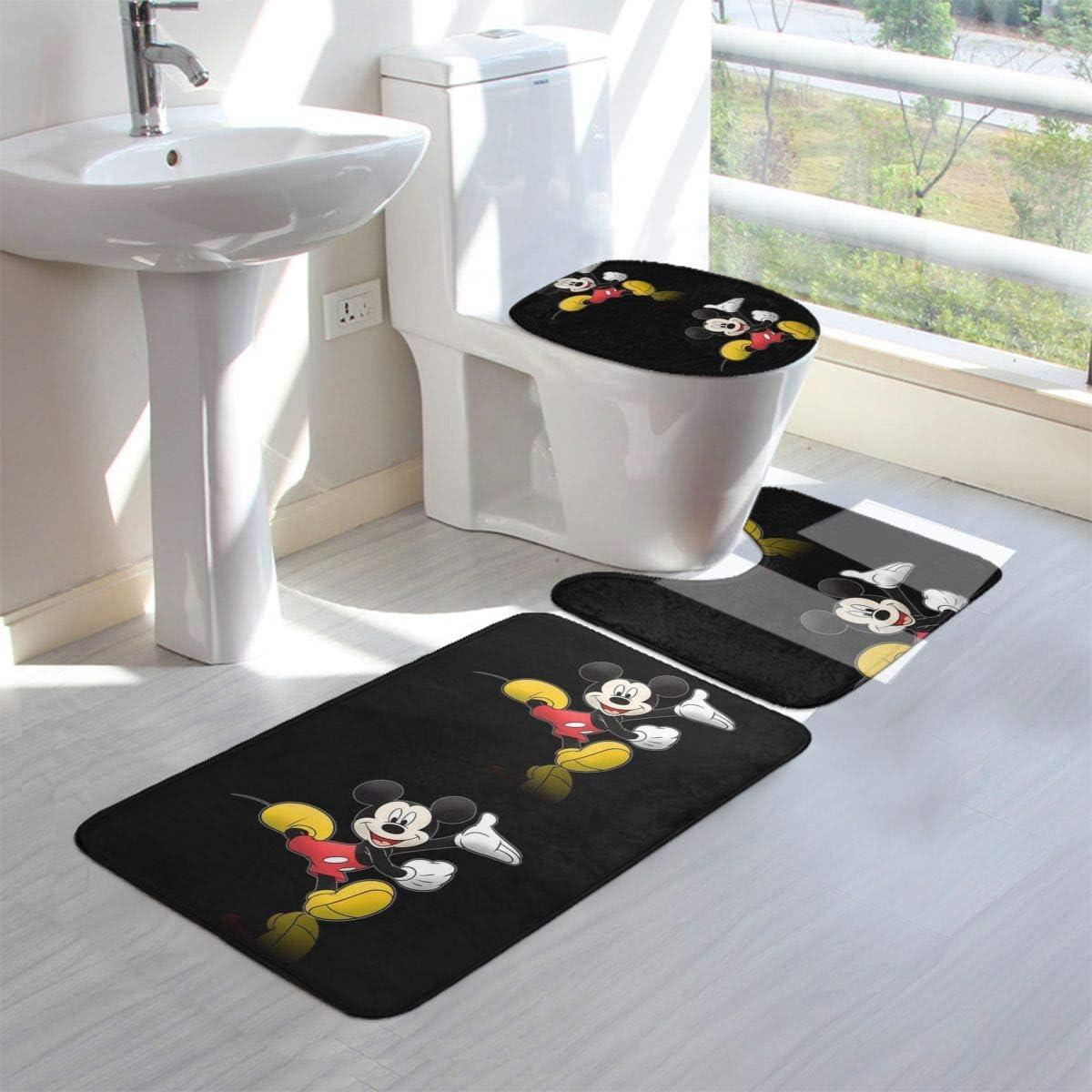 Amazon.de: Happy Mickey Mouse Badteppich-Set 10-teilig Badteppiche