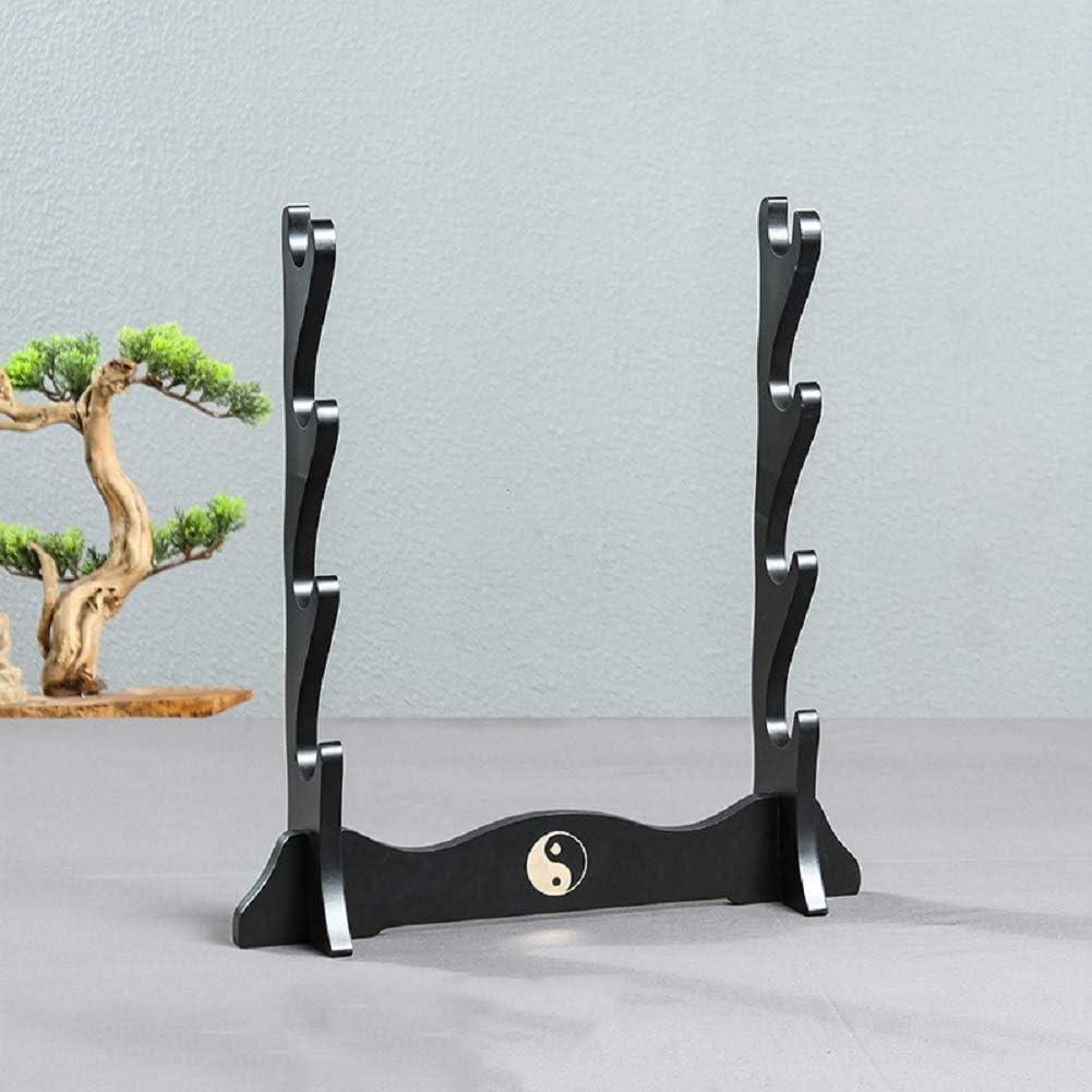 SHULI Porte-/ép/ée Simple Taiji Chinois ic/ône /ép/ée Support Japonais samoura/ï /ép/ée Support daffichage rack-1-Layer