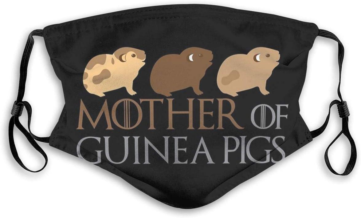 Dust masch-era Face masch-era Mother Of Guinea Pigs Ski masch-era Cappello Scaldacollo Copricapo Bocca masch-era con due filtri sostituibili
