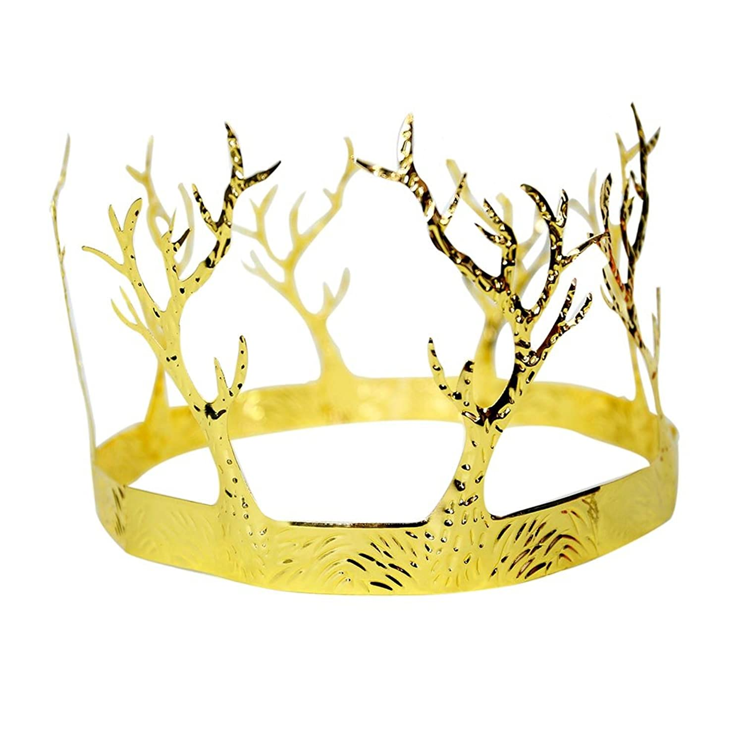 Amazon.com: Jacobson Hat Co. Gold Branch Crown One Size: Clothing
