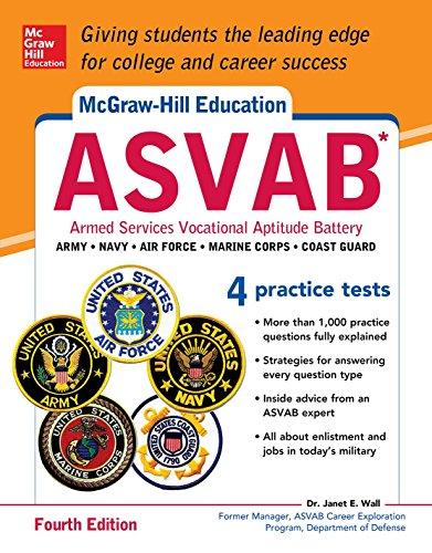 McGraw-Hill Education ASVAB, Fourth Edition