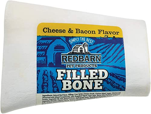 Redbarn Small Filled Bone-Cheese n Bacon 5-Count