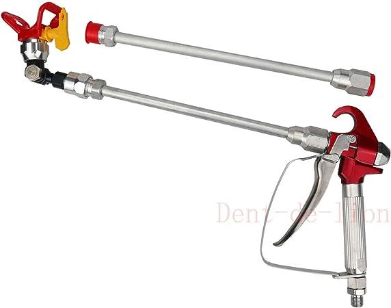 Outil universel de remplacement de pistolet de pulv/érisation de si/ège de pistolet de pulv/érisation de peinture Airless rouge