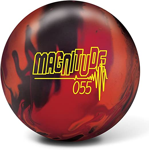 Brunswick Magnitude 055 Bowling Ball- Black Orange Red