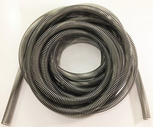 Stainless Brake Line Protector (Gravel Guard Spring) for 5/16' Tube - 16 Ft. The Stop Shop
