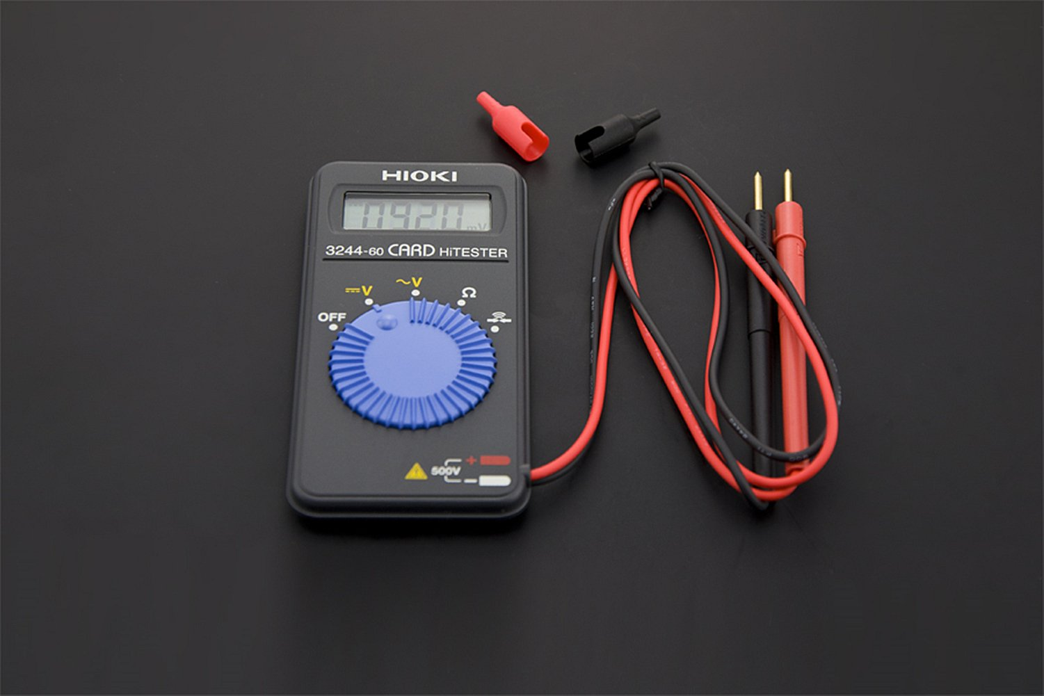 Digital Card Multimeter/With A Size Of Only 109 Mm X 55 Mm And 60 G In Weight, This Digital Multimeter Is Small Enough To Be Put In Pocket by D&F