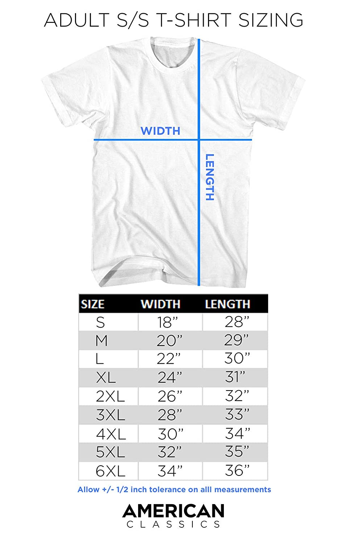 American Classics Unisex-Adult Mr T Hey Sucka Adult Short Sleeve T-Shirt T-Shirt