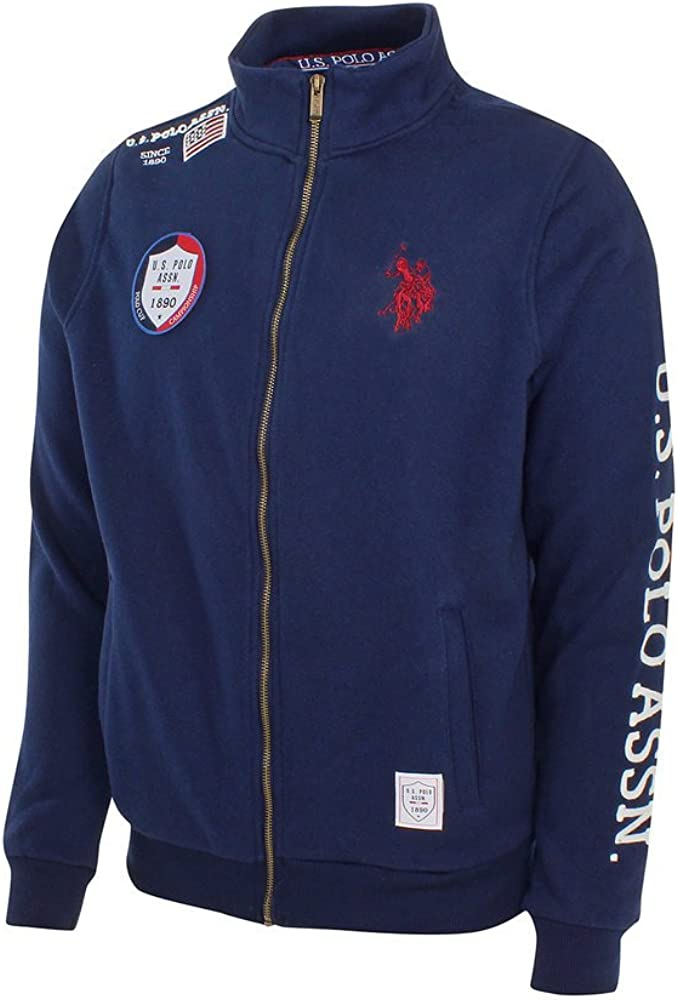 U.S. Polo ASSN - Chaqueta Deportiva - para Hombre Marine X-Large ...