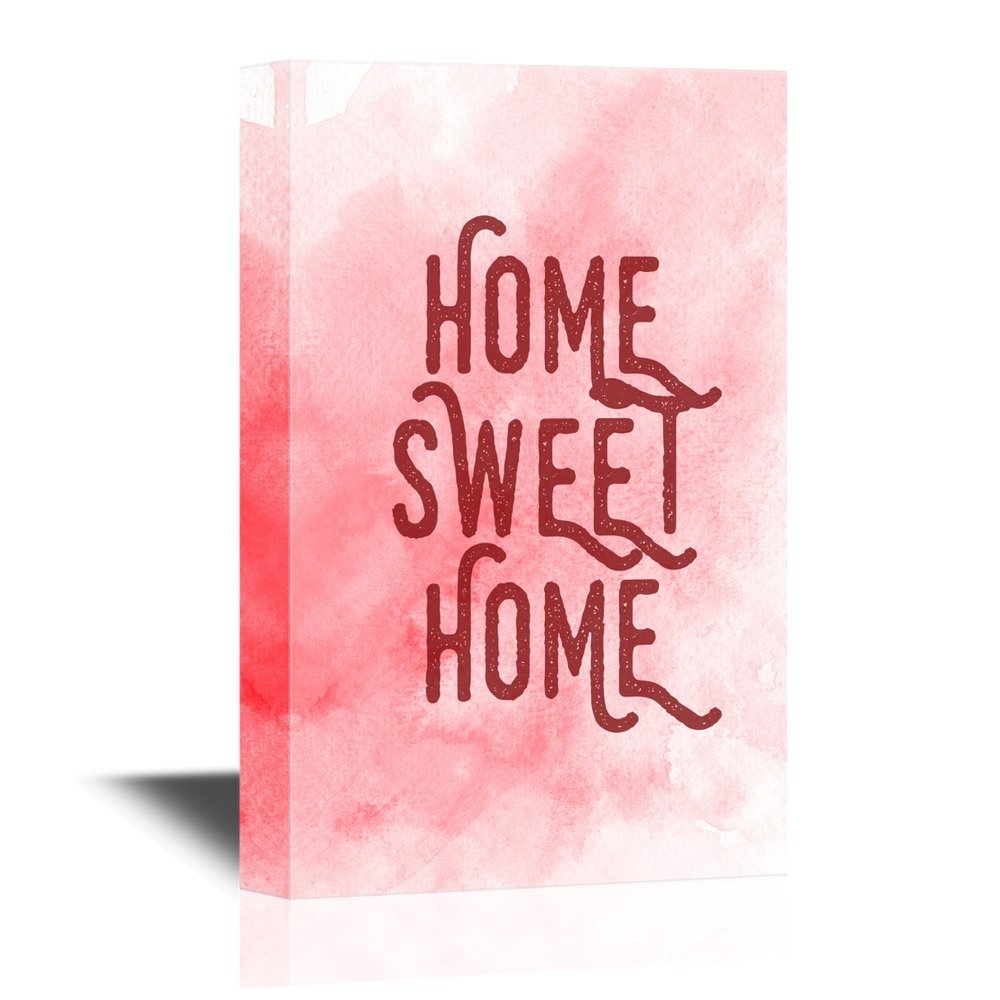 Print Art Home Sweet Home Wall Decor Quotes Ation Canvas Art Wall26