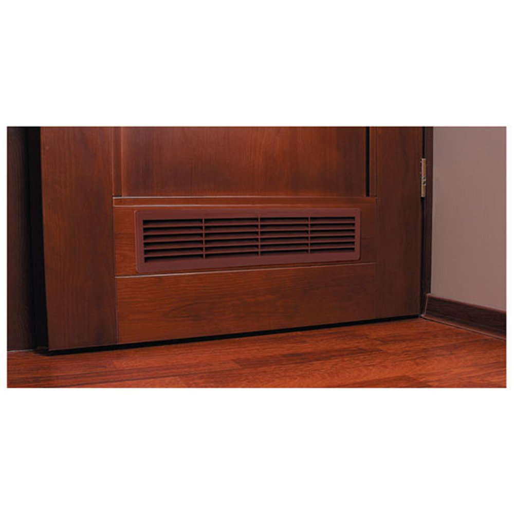 Bathroom Door Air Vent Grille 455mm x 135mm / 18  x 5.3 inch Two Sided Ventilation Cover T15 - - Amazon.com  sc 1 st  Amazon.com & Bathroom Door Air Vent Grille 455mm x 135mm / 18