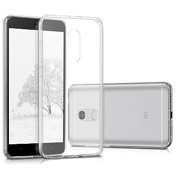 kwmobile Funda compatible con Xiaomi Redmi Note 4 / Note 4X - Carcasa de [TPU] para móvil - Cover [trasero] en [transparente]