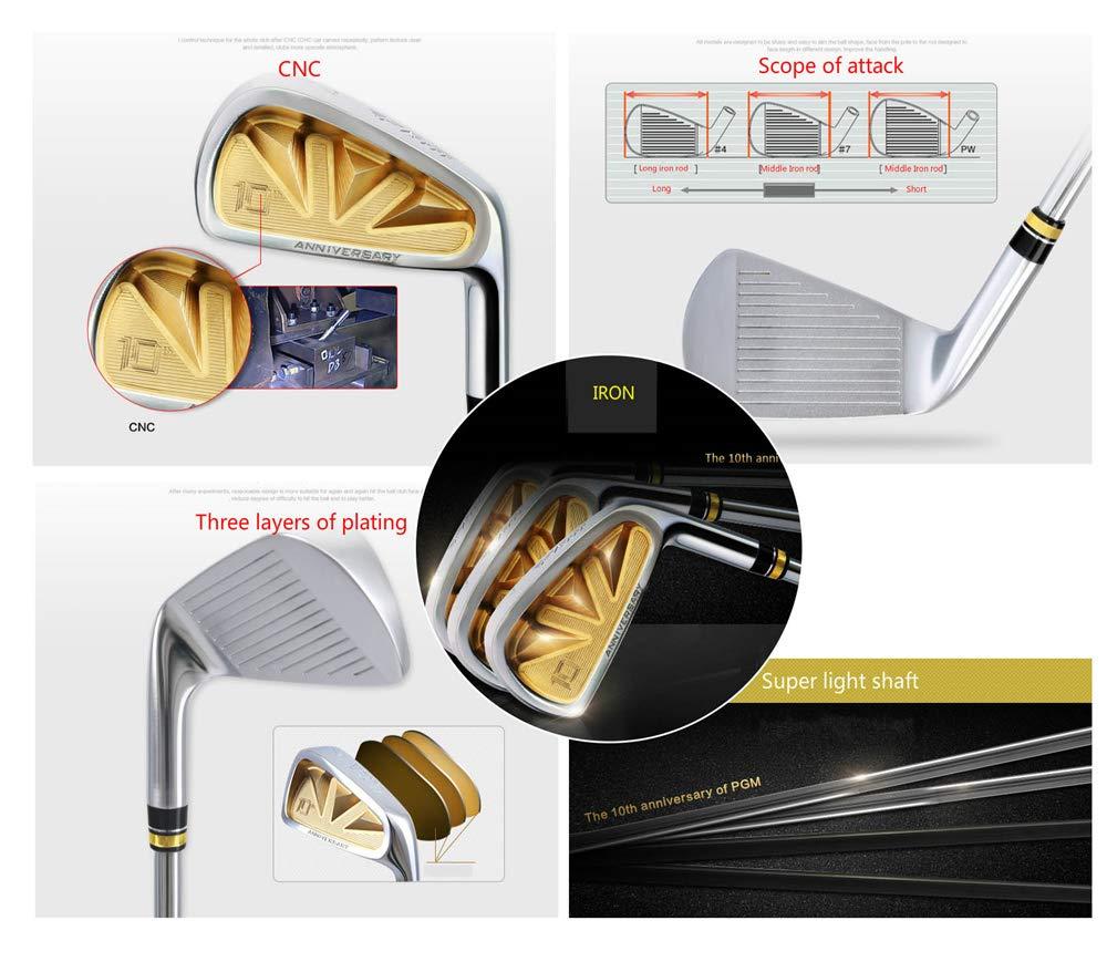 WHARMSS Club de Golf de los Hombres Polo Conjunto Oro de los ...