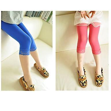 3fc682846800 Amazon.com  Kid Lace Tight 5PC Girl s Colored Legging Velvet Pants ...