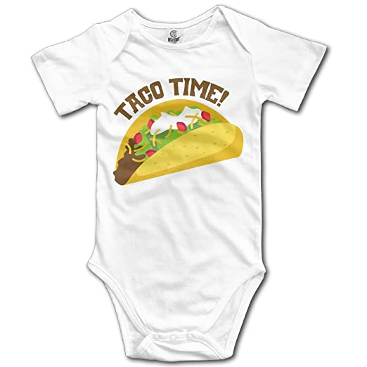 5b595f7c8 Amazon.com: Baby Onesie TACO TIME Tacos Love Infant Clothes Outfits ...