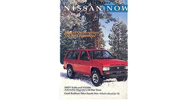 Amazon.com: 1992 Nissan Now Dealers Brochure 300ZX: Entertainment Collectibles
