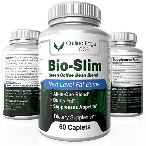 Cutting Edge Labs Bio Slim Green Coffee Bean Blend Weight Loss Pills