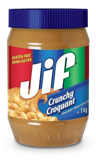 Amazon Jif Crunchy Peanut Butter 1 Kilogram 220 Pounds