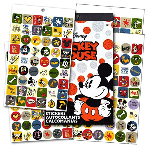 Disney Mickey Mouse Clubhouse 4 Sheet Sticker Pad with Over 200 (Mickey Mouse Clubhouse Sheets)