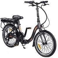 Fafrees Bicicleta Eléctrica Plegable de 20 Pulgadas, Bicicleta Eléctrica 250W 36V 10AH…