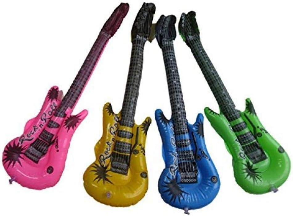 AMOYER 4 Piezas inflables Accesorios para Guitarra de Color ...