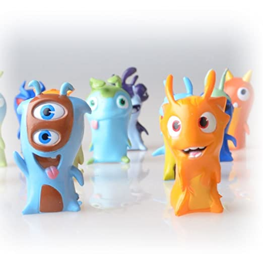 Amazon.com: 24pcs Slugterra Mini PVC Action Figures Christmas Toys Dolls Kids Gift Cartoon: Toys & Games