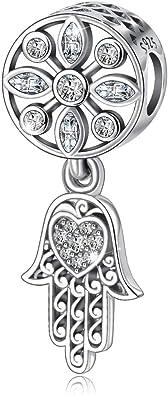 Européenne Argent 925 Charms Perles pendentif pour 925 Sterling Femmes Bijoux bracelets