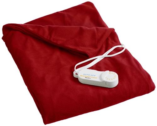Biddeford Blankets 4440-907484-300 Heated Throw, Brick