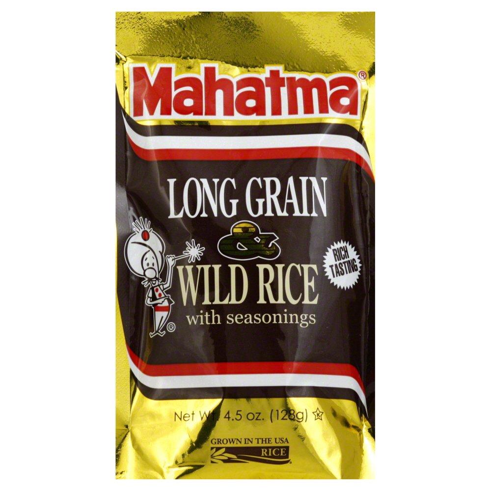 Amazon.com : Mahatma Long Grain & Wild Rice 4.5 Oz (Pack