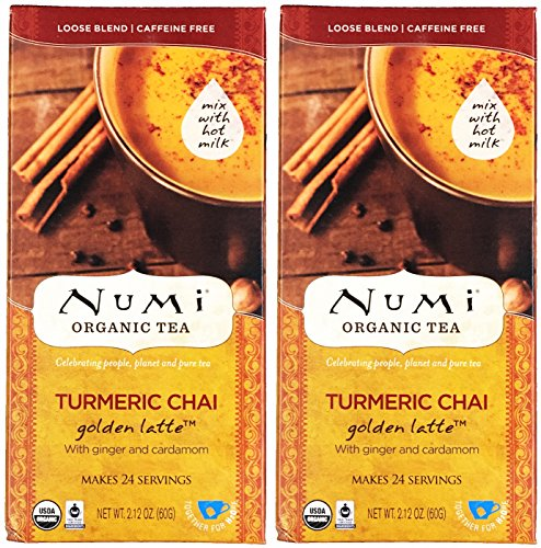 Numi Organic Turmeric Golden Servings