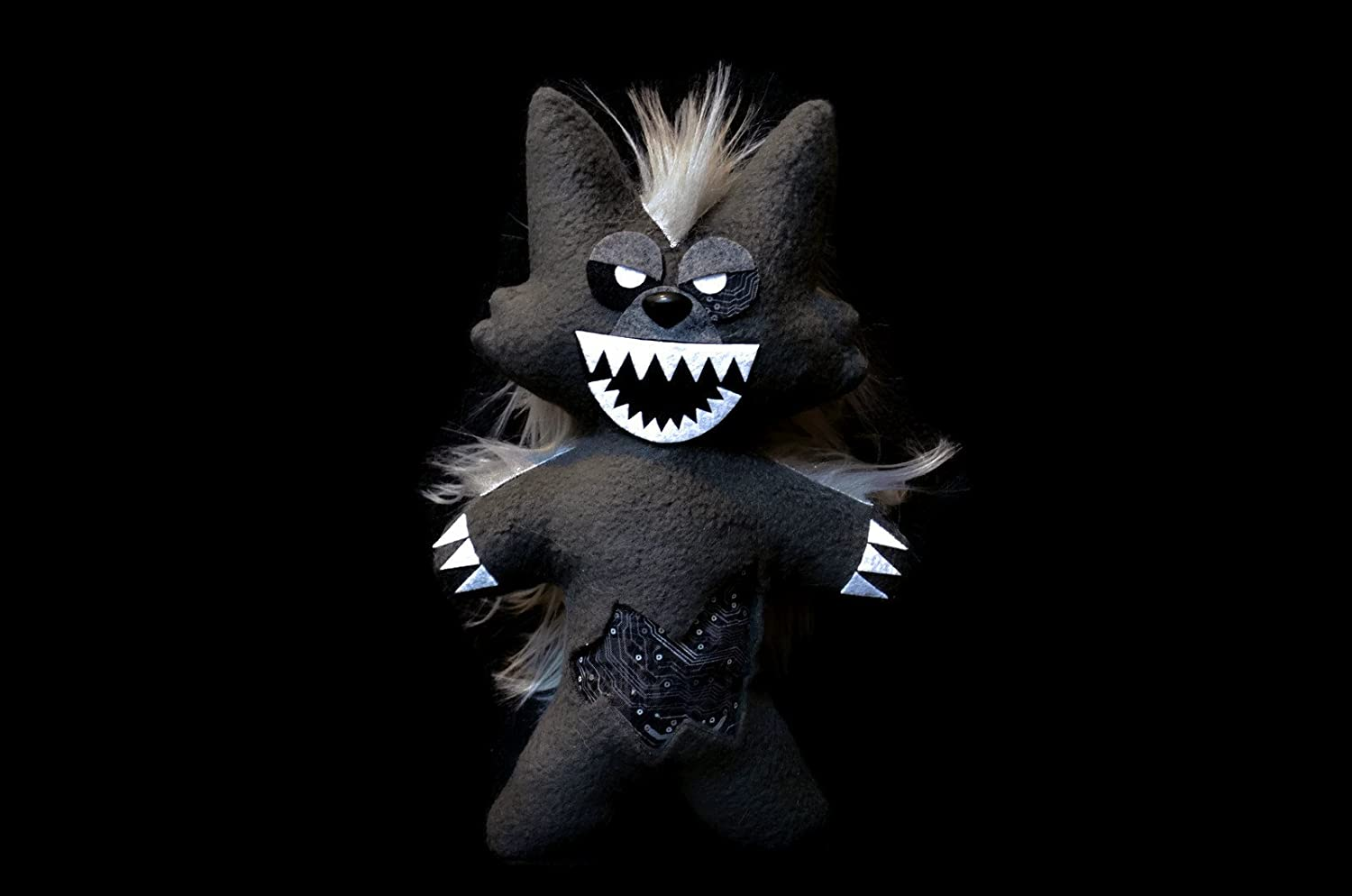 Fnaf ~Handmade Plush~Twisted Wolf/ Five Nights at Freddys 11