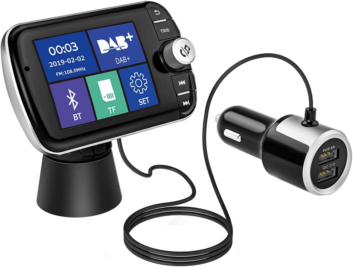 Geosta Dab Dab Autoradio Adapter Bluetooth Fm Transmitter Mit 2 4