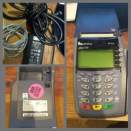Vx510 Credit Card (verifone vx510/5100 omni 3730 dial credit card swiper/printer M251-000-03)