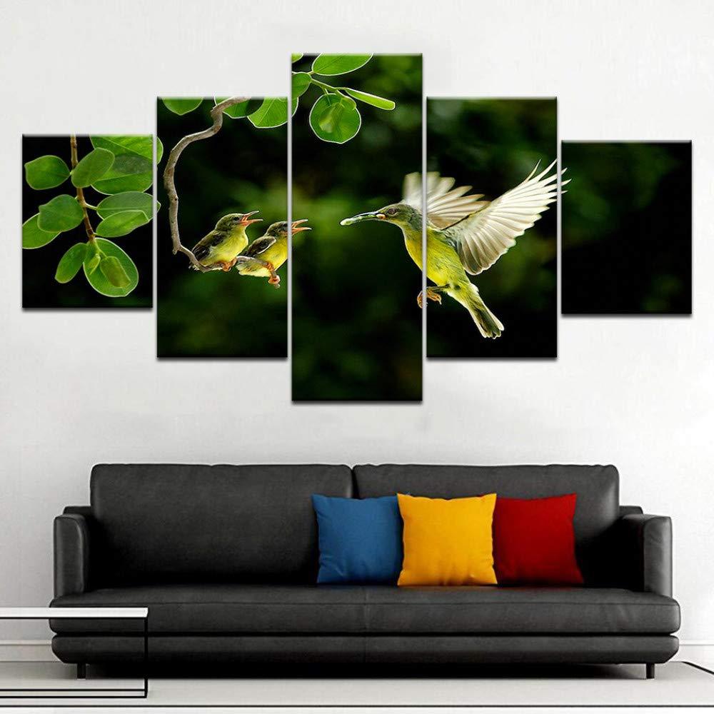 jjshily Maravilloso Hummingbird Framework 5 Panel de ...