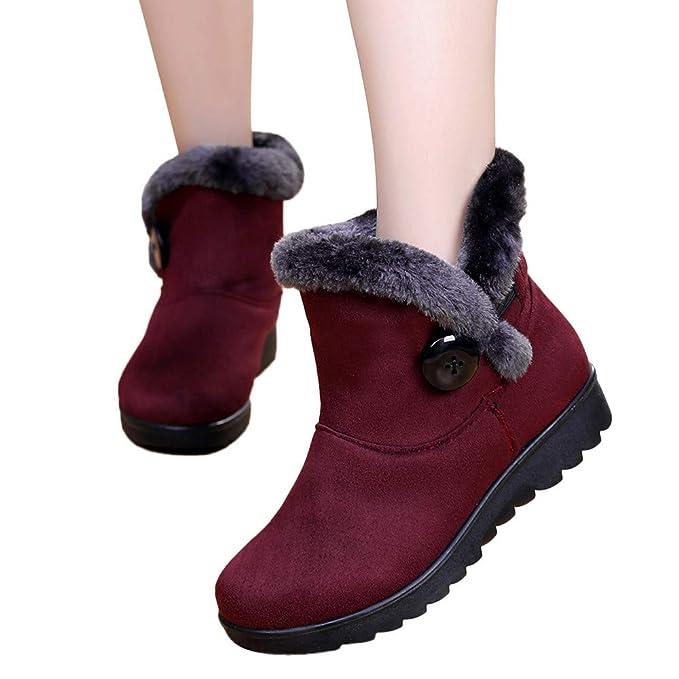 1667a0d126a58 Amazon.com: Memela Clearance Sale!!Unisex Warm Winter Flat Shoes ...