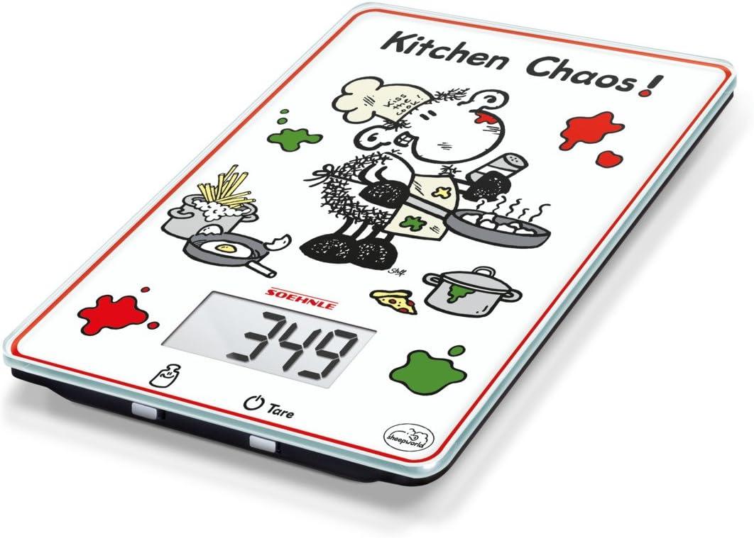 Soehnle Leifheit 66194 - báscula cocina digital Kitchen Caos ...