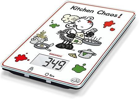 Soehnle Leifheit 66194 - báscula cocina digital Kitchen Caos: Amazon.es