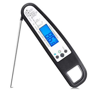 Termómetro de cocina USCVIS Digital inalámbrico de humo de carne termómetro de carne Termómetro de comida