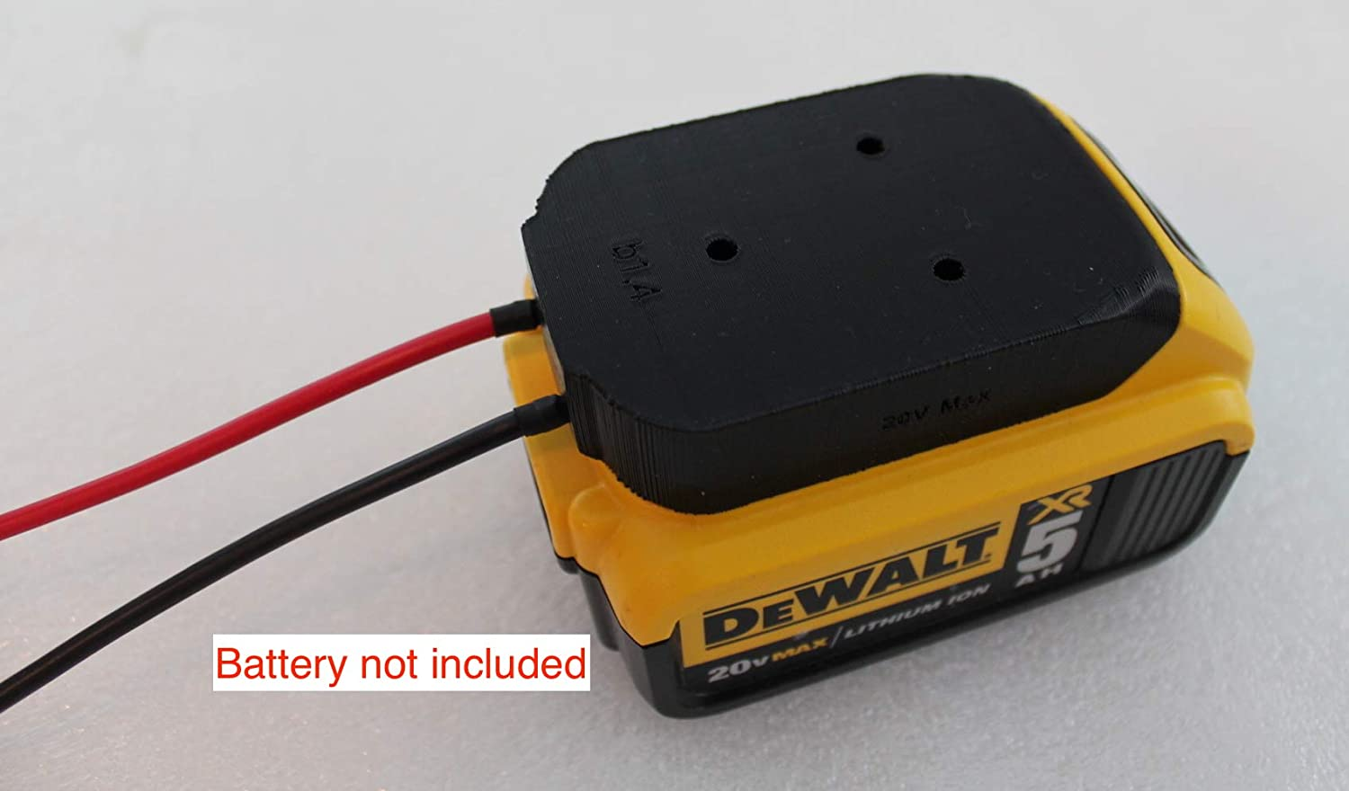 battery adapter for DeWALT 20V Max 18v dock power connector 12 gauge robotics …