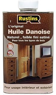 Rustins (DANO1000) Dänisches Öl - Schutz des Innen - und Außen ...