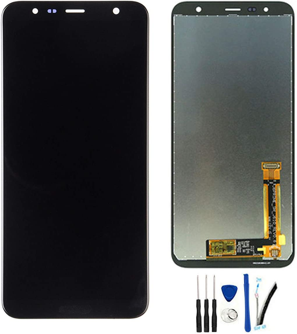 Color : Black Touch Panel Screen LCD Screen and Digitizer Full Assembly for Galaxy J4 Core J410F